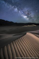 Stars at Eureka (David Swindler (ActionPhotoTours.com)) Tags: california deathvalley southwest desert eureka dunes dune night milky way stars