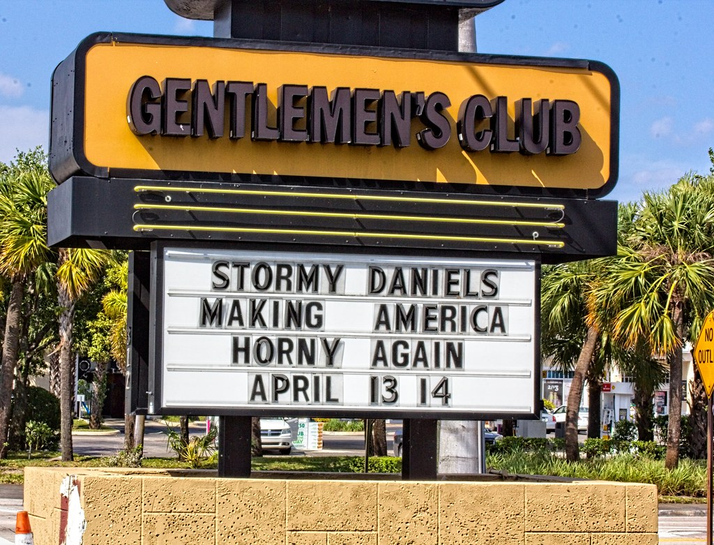 Stormy Daniels (LarryJay99 ) Tags: ultima tittybar westpalmbeach florida  canon60d canon urban sign
