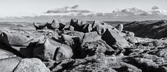 Seal Edge (l4ts) Tags: landscape derbyshire peakdistrict darkpeak kinderscout moorland gritstone gritstoneedge gritstonetors sealedge blackwhite monochrome seleniumtoning