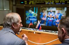 Expedition 55 Soyuz Docking (NHQ201803240007) (NASA HQ PHOTO) Tags: missioncontrolcentermoscowtsup korolev expedition55 roscosmos internationalspacestationiss russia soyuzms08 billgerstenmaier tsup rus nasa joelkowsky