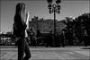 DRD160901_0665 (dmitryzhkov) Tags: russia moscow documentary street life human monochrome reportage social public urban city photojournalism streetphotography people bw sunlight sunshine dmitryryzhkov blackandwhite everyday candid stranger face streetportrait portrait motion blur motionblur smoke smoker walk pedestrian walker outdoor passerby pretty woman