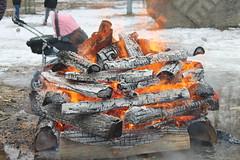For the upcoming warmth! (Ievinya) Tags: fireplace fire bonfire ugunskurs uguns easter lieldienas