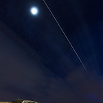 ISS over Mt. Trashmore thumbnail