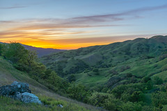 Sky Camp (Dancing.With.Wolves) Tags: green hills bay area california backpacking spring 2018 sunset sun sunrise ticks cows lush rolling bald rock colors flowers grass trail 680 580 sleep view nature