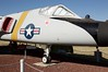 F-106_DSC_0131 (wbaiv) Tags: fighter interceptor airplane aircraft military jet castle air museum atwater california central valley highway 99 usaf convair f106 f106a delta dart infrared sensor ball deployed exposed blue sky coldwar era plane