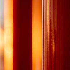TTC Red (josullivan.59) Tags: 2018 artistic canada canon6d dof ontario ttc tamron150600 toronto university york abstract architecture backlit blur color detail evening geometric goldenhour light minimalism nicelight orange outdoor outside red reflection square sunset sunsetlight telephoto texture wallpaper