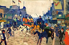 Andre Derain (French),Regent Street,London 1906,oil on canvas (marcos2077) Tags: metropolitanmuseumofart andrederain