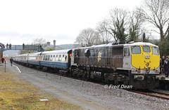 Irish Rail 074 in Carrick-On-Suir Station. (Fred Dean Jnr) Tags: irishrail iarnrodeireann april2018 branchlinewanderer railtour 071class 074 carrickonsuirstationtipperary carrickonsuir tipperary generalmotors electromotivedivision