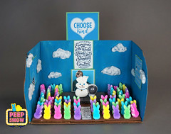 45-Choose Peep (Carroll Arts Center) Tags: carroll county arts council 2018 peepshow a display marshmallow masterpieces featuring more than 150 sculptures dioramas graphic oversized characters mosaics created inspired by peepsâ®