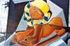 Graffiti Falchera 2 (fabio.mattutino) Tags: streetart street art graffiti turin torino piemonte piedmont kodak gold 200 falchera colore colori colour color icone icons toro pietro micca museo egizio mole antonelliana tucanen leica m3 summicron 50mm type2