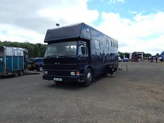 BGZ 4663 (Jonny1312) Tags: scania lorry truck horsebox ballymena antrim midantrimhorseshow