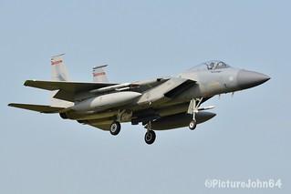 Frisian Flag 2018: United States Air Force F-15C Eagle (84-0005) of  123FS / 142FW Oregon ANG