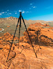 Don't Trip on the Tripod (tquist24) Tags: mojavedesert nevada nikon nikond5300 valleyoffirestatepark clouds desert geotagged landscape mountains park rock rocks sandstone sky tripod unitedstates