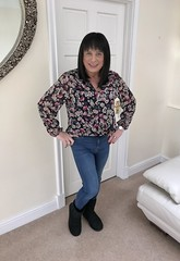 Love my Uggs🙈💁 (Miss Nicole Sanderson) Tags: pretty lady smile uggs gorgeous sexy beautiful skinnyjeans jeans tg ts transsexual transgender lesbian woman girly girlie girl