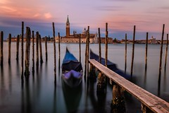 San Giorgio  Maggiore (WheresBusyB) Tags: venice canal lagoon gondola italy water sunrise