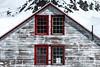 Symmetry at Independence Mine (BradTombers) Tags: mine abandoned alaska cold winter sunshine blue sky architechture historical history tourism