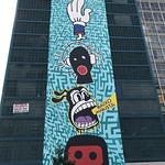 Os Tupys, Consolação Street, downtown São Paulo, Brazil. thumbnail