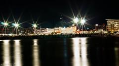 Scenic Nightscape Long Exposure (kuntheaprum) Tags: cityofboston nightscape longexposure nikon d80 samyang 85mm f14 sigma 50mm water boat