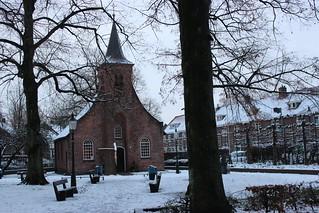 Look back winter 2017 / Tilburg: Hasselt Chapel, built in 1536.