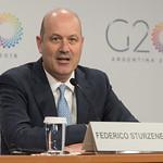 Conferencia de prensa  2da reunión de ministros de Finanzas y Presidentes de Bancos Centrales thumbnail
