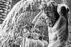 Acqua a linzolu (Stauromel) Tags: catania fuente fontana fontanadell´amenano amenano fiume bn blancoynegro blackwhite italia italy italie aguaensabana acquaalinzolu stauromel street alquimiadigital escultura fuji fujixt2