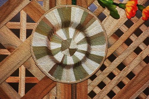 Lanna hat handicraft