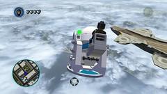 Flying Turret (Gallisuchus (Clayface)) Tags: lego marvel superheroes videogame screenshot black bolt helicarrier flying floating turret gun glitch