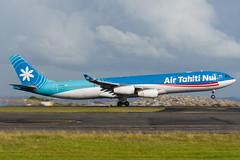 Air Tahiti Nui Airbus A340 (Daniel Talbot) Tags: a343 akl airtahitinui airbus airbusa340300 auckland aucklandairport aucklandregion fosea nzaa newzealand northisland teikaamāui aircraft airplane airplanes airport autumn aviation maker oceania plane season seasons transportation