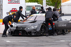 Demonstration driving of Lexus LC 500 GT500 Prototype (junjunohaoha) Tags: lexus lc lc500 supergt racecar gt500 odaiba japan msj tokyo motorsportjapanfestival2018 nikon d610