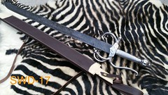 #Handmade #damascus #sword #for #sale #with #beautiful #leather #sheath #pm #me #or #comment #below #for #more #details #and #price (Smartknives65) Tags: handmade damascus sword for sale with beautiful leather sheath pm me or comment below more details price