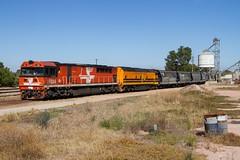 Freightlink Paint (Aussie foamer) Tags: fq04 fqclass emd edidowner edi freightlink gwa geneseewyomingaustralia graintrain gladstone southaustralia train railway locomotive rpausafqclass rpausafqclassfq04