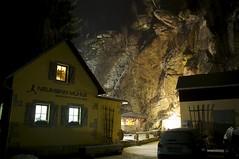 Neumann Mühle (fotio14) Tags: wirtshaus sachsen deutschland sächsischeschweiz nacht felsen beleuchtung kirnitzschtal elbsandsteingebirge winter