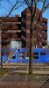 Blue Building (Car fotographer) Tags: hetblauwegebouwtilburg tilburg spoorzone013 burgemeesterbrokxlaan nsplein noordbrabant holland nederland netherlands building blue