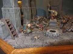 Orc-attack in Moria_07 (Mangito1) Tags: lordoftherings herrderringe mazarbul moria dwarfs gimli gandalf