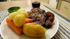 Air fryer cooking (Sandy Austin) Tags: sandyaustin westauckland auckland massey northisland newzealand airoven airfryer pork potatoes carrots vegetables
