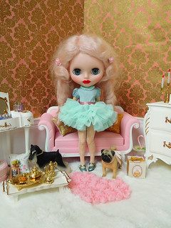 Mint Ruffles Dress