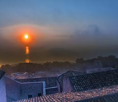 Sun and romance in South of Italy (Robyn Hooz) Tags: erice tetti mare sole cielo coppi luce romance horizon sicilia sicily love
