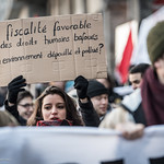 Manifestation contre le