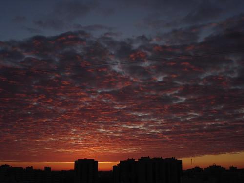 Зимний рассвет ©  ayampolsky