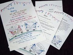Nice day for a ....... manx wedding (JuliaC2006) Tags: wedding invitation