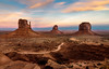 Icons of the American West (zman2711) Tags: arizona utah monumentvalley iconic icons southwest desert buttes sunset tourism landscape clouds travel navajo