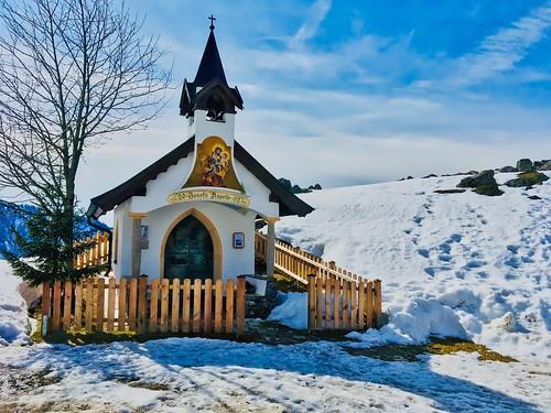 St. Joseph's chapel at Ritzau Alm in Tyrol, Austria