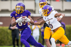 ECU Football '18 (R24KBerg Photos) Tags: 2018 pirates ecu eastcarolina ecupirates eastcarolinauniversity eastcarolinapirates greenvillenc dowdyficklenstadium athletics americanathleticconference aac action athletes northcarolina ncaa canon collegesports spring practice scrimmage