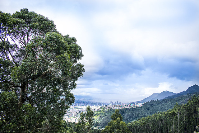 Bogotá desde el Nodo Cerros Orientales