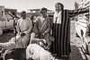 Zagora Cattle Market 2018 VI (Tom Levold (www.levold.de/photosphere)) Tags: fuji fujix100f marokko morocco x100f zagora market people candid bw markt sw street porträt portrait sheep schaf