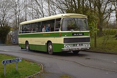 KDL885F Wythall 02/04/18 (MCW1987) Tags: bammot wythall preserved southern vectis duple commander bodied bristol resh re kdl885f