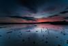 Shoreham, Sussex (E_W_Photo) Tags: shoreham shorehamtollbridge riveradur sussex england uk sunset pink river longexposure leefilters littlestopper canon 80d sigma 1020mm bridge dusk clouds cloudblur
