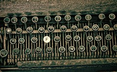 """F"" IS FOR......... (akahawkeyefan) Tags: keyboard letters machine kingsburghistoricalpark davemeyer"