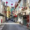 Lorong Panggung (Thomas Rotte) Tags: alley kuala lumpur malaysia south east asia square color colour colourful chinese new year cny lanterns street city lorong panggung