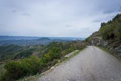 Tirana - Elbasan old national road